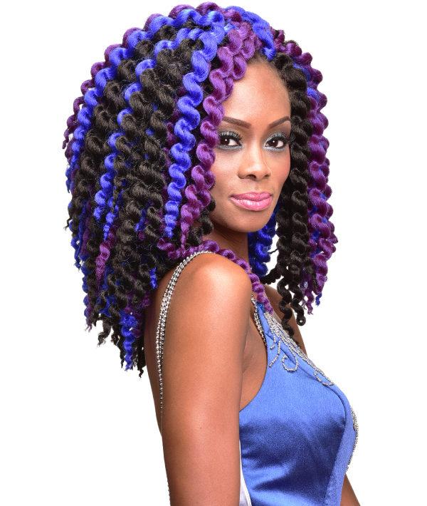 3x Afro Marley Twist12 Bijoux Hair