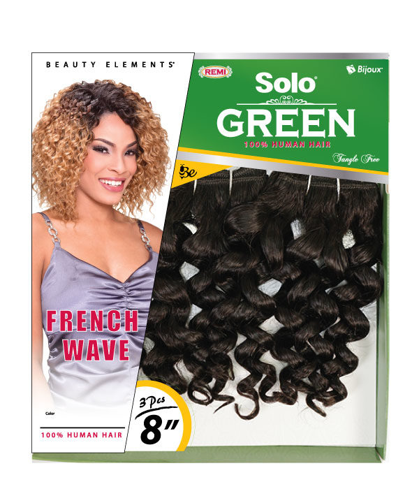 Solo Green French Wave Bijoux Hair