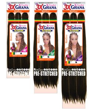 3x Ghana Braid 40 50 60 Bijoux Hair