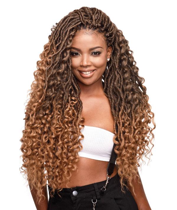 3x Ghana Boho Locs 24 Bijoux Hair