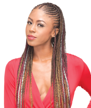 3x Ghana Braid 40 50 60 Bijoux Hair